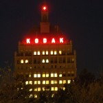 Kodak Office at Night - The Lights are On!