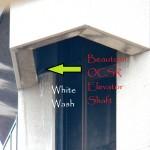 Beauty in the OCSR elevator shaft - 12/20/12