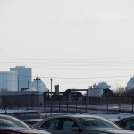 City Skyline from just south of KP - 12/23/12