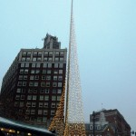 The Liberty Pole, downtown Rochester - 12/26/12