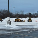 Snowy KP Parking Lot 12/27/12