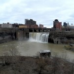 High Falls - Views from the Pedestrian Bridge - 12/9/12