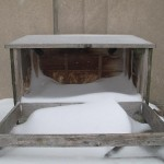 A Snowy Nest Box - 12/27/12