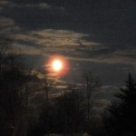 Golden Full Moon - 1/26/13