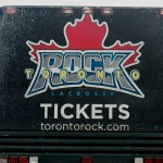 Toronto Rock Lacrosse Team Bus - 1/26/13