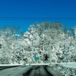Winter Wonderland (Approaching Ridgeway on way to KP) 2/10/13