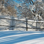 Just liked the way snow clung to this fence at KP :-) 2/10/13