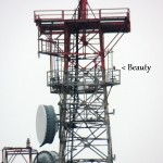 Beauty back on the Frontier Communication Tower - 2/23/13