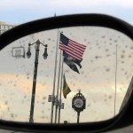 img_9693-rochester-convention-center-flag-in-my-side-mirror