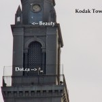 Beauty & Dot.ca on Kodak Tower 11-30-13
