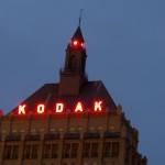 Lights on at Kodak Office 12-22-13