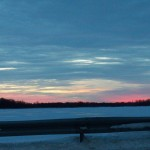 Buck Pond at Sunset 1-4-14