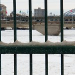 Ice Covered Genesee River 1-5-14