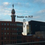 View from Broad St Beauty on FCT 1-16-14