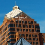Beauty on the Bausch & Lomb Building SW Corner 1-23-14