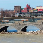 Genesee River Looking North 4-20-14