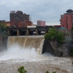 Raging Waters over the High Falls 7-28-14
