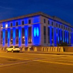 Blue Library in Honor of Officer Daryl Pierson 9-24-14