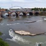 Genesee River South of Broad St Bridge 9-11-14
