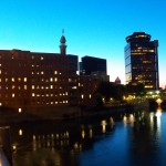 Downtown Rochester at Night 9-24-14