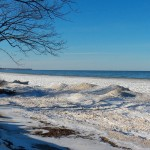 Icy Lake Ontario 1-25-15