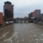 Genesee River Running Hard and Fast -3-20-15