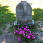 Susan B Anthony Mt Hope Cemetery -5-23-15
