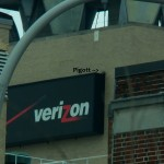 Pigott Caching Food on Verizon Sign -4-6-16